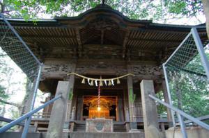 前玉神社拝殿